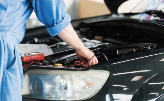 亀井産業の事業4:自動車整備、新車・中古車販売